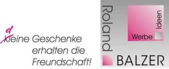 Roland Balzer Werbe Ideen